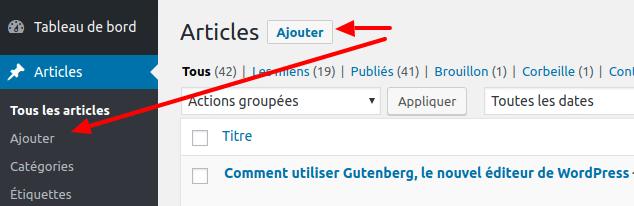 Comment utiliser Gutenberg, le nouvel éditeur de Wordpress